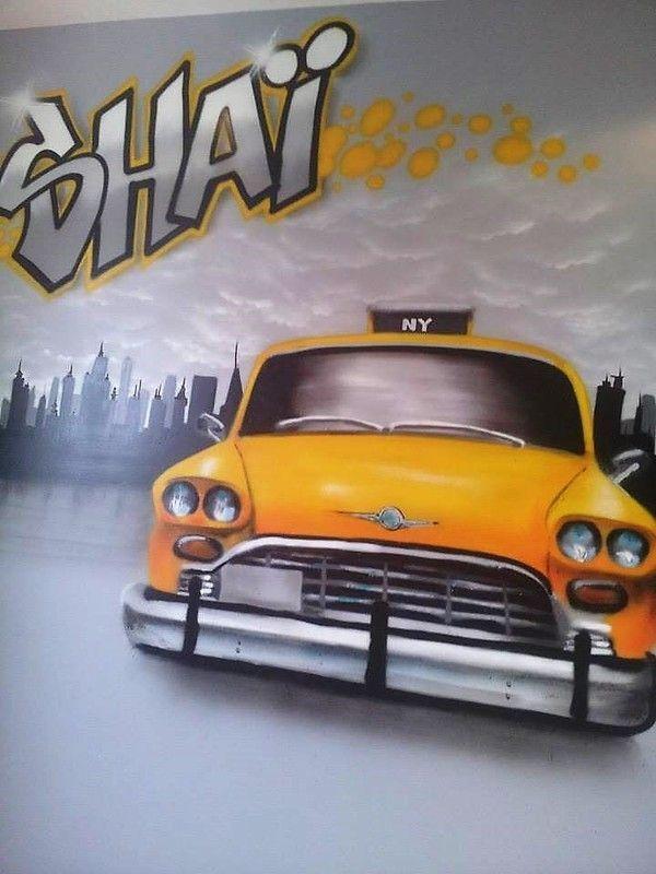 d co street art maison graffiti new york chambre enfant. Black Bedroom Furniture Sets. Home Design Ideas