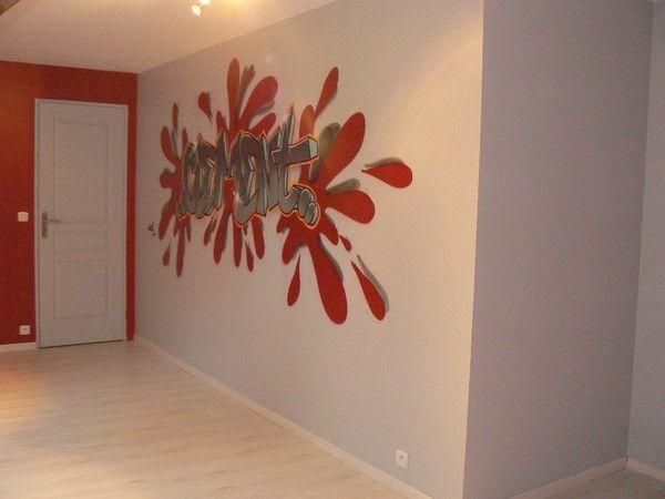 Graffiti chambre d enfant deco interieur exterieur for Decoration chambre interieur